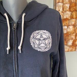 Obey zip hoodie